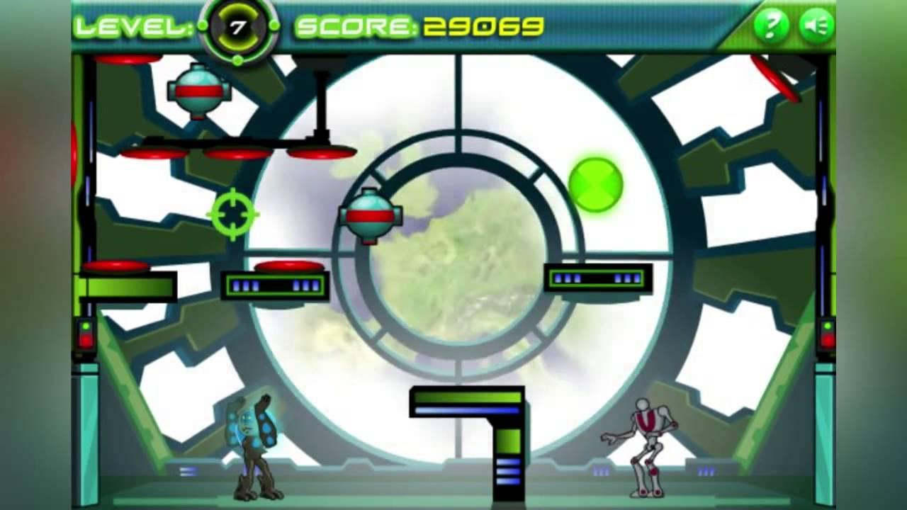Ben 10 Vilgax Crash Ben 10 Games Youtube