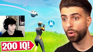 Reacting to the Most GENIUS Plays of Fortnite Season 7!