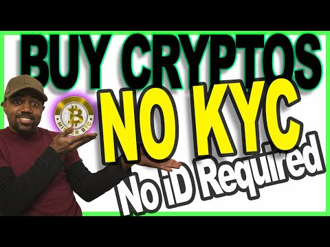 How To Buy Cryptocurrency With No KYC - Buy Crypto With No ID - Buy Crypto Anonymously