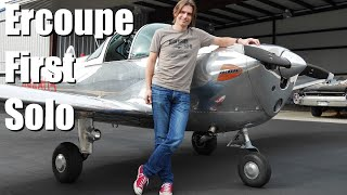 Repeat youtube video First Ercoupe Solo