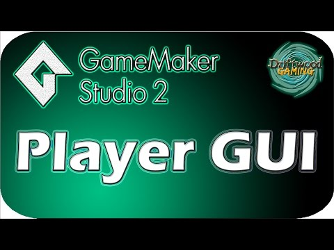 GMS 2 Tutorial - Player GUI - Health & Energy Bars - GameMak