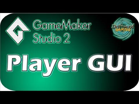 GMS 2 Tutorial - Player GUI - Health & Energy Bars - GameMaker Studio 2 Tutorial