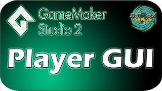 GMS 2 Tutorial - Player GUI - Health & Energy Bars - GameMaker Studio 2 Tutorial