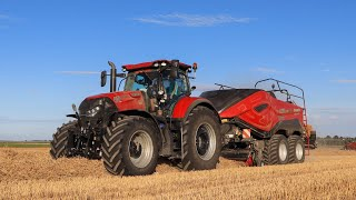 🇫🇷 NEW CASE IH LB 436 HD - Optum 270 | Pressage de paille 2020