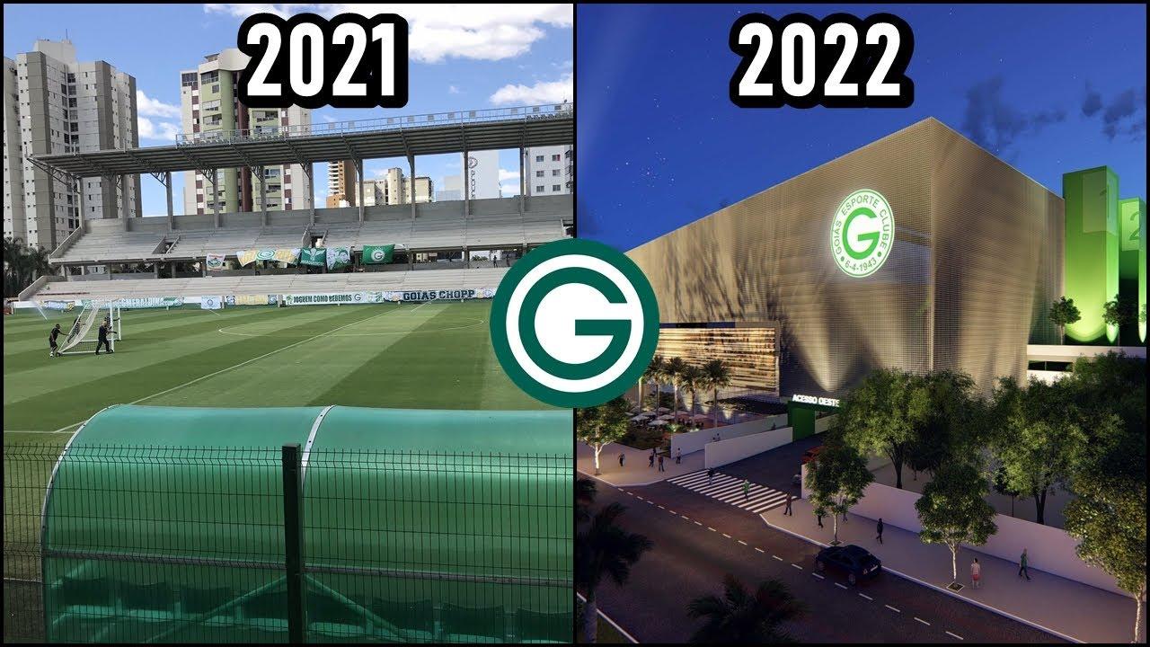 Veja COMO ESTÁ a ARENA DA SERRINHA em 2021: A futura e MODERNA ARENA do GOIÁS!
