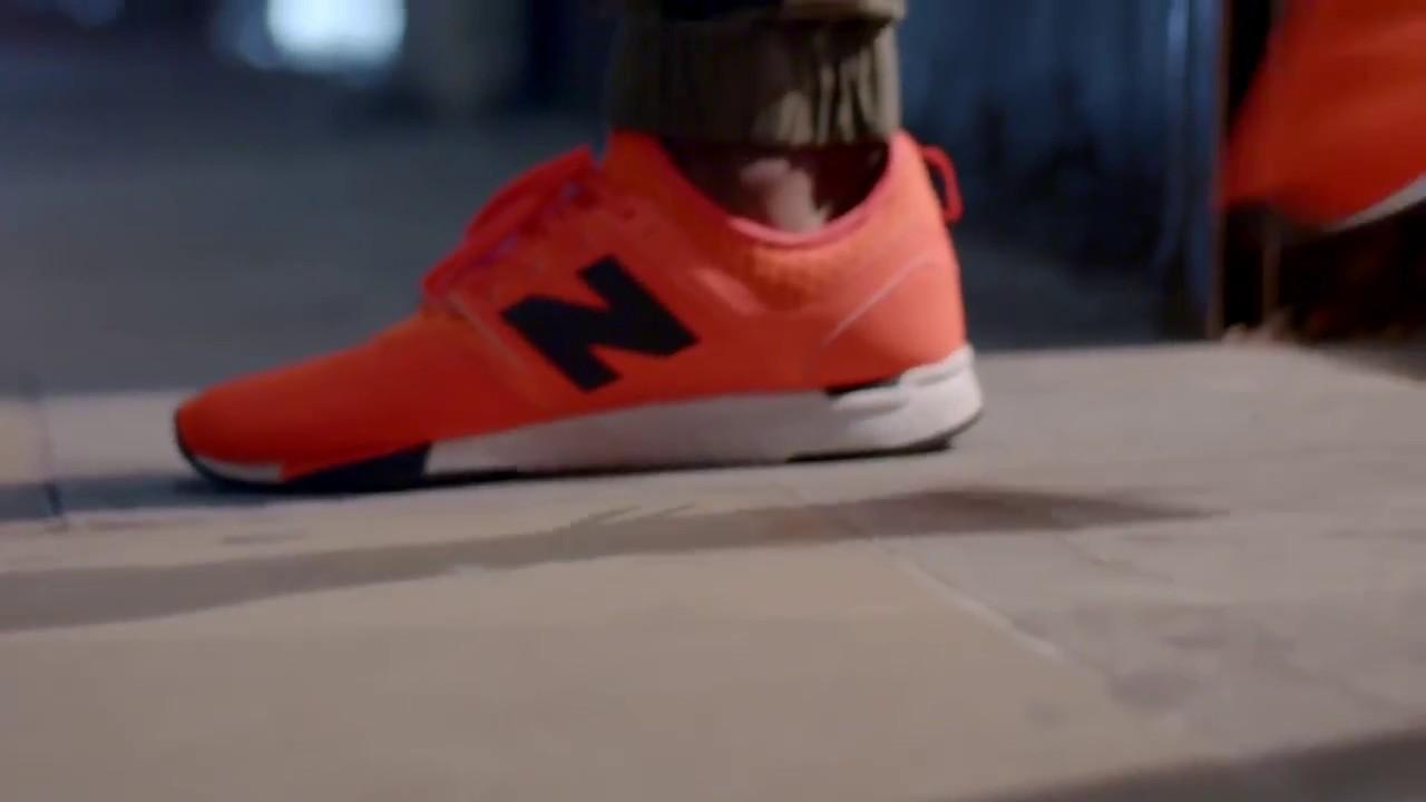 orange new balance 247