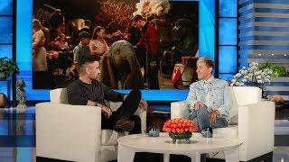 Colin Farrell On Working With The 'Magic' Tim Burton On 'Dumbo'