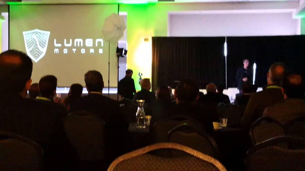 lumen motors pitch at open houston youtube
