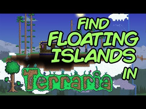 How to find Floating Islands in Terraria, easy and fast method