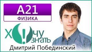 А21 по Физике Демоверсия ЕГЭ 2013 Видеоурок