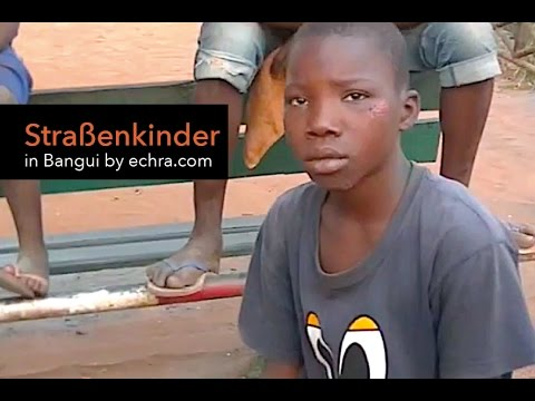 Street Children of Ubangui River Bangui