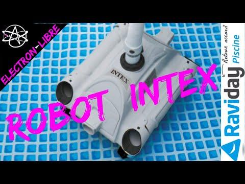 ROBOT NETTOYEUR DE FOND DE PISCINE INTEX