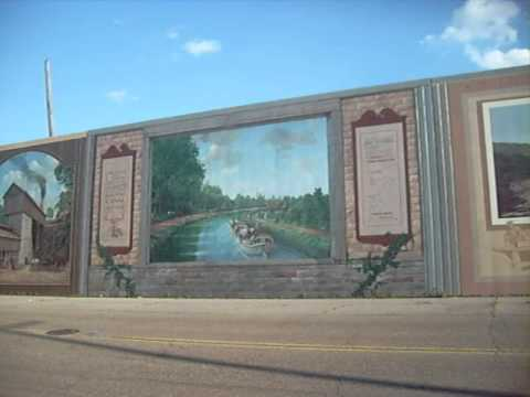 Awesome Portsmouth, Oh Floodwall Murals Part 20