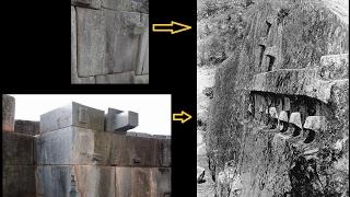 Knobs on Megalithic blocks