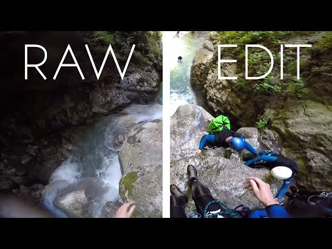 RAW VS EDIT | GoPro HERO4 - La Clusaz 2016 | The best holiday of my life...