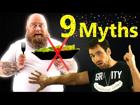 9 Popular Diet Tips - MAKING YOU FATTER! - Avoid These Food Myths & mistakes for losing weight Loss