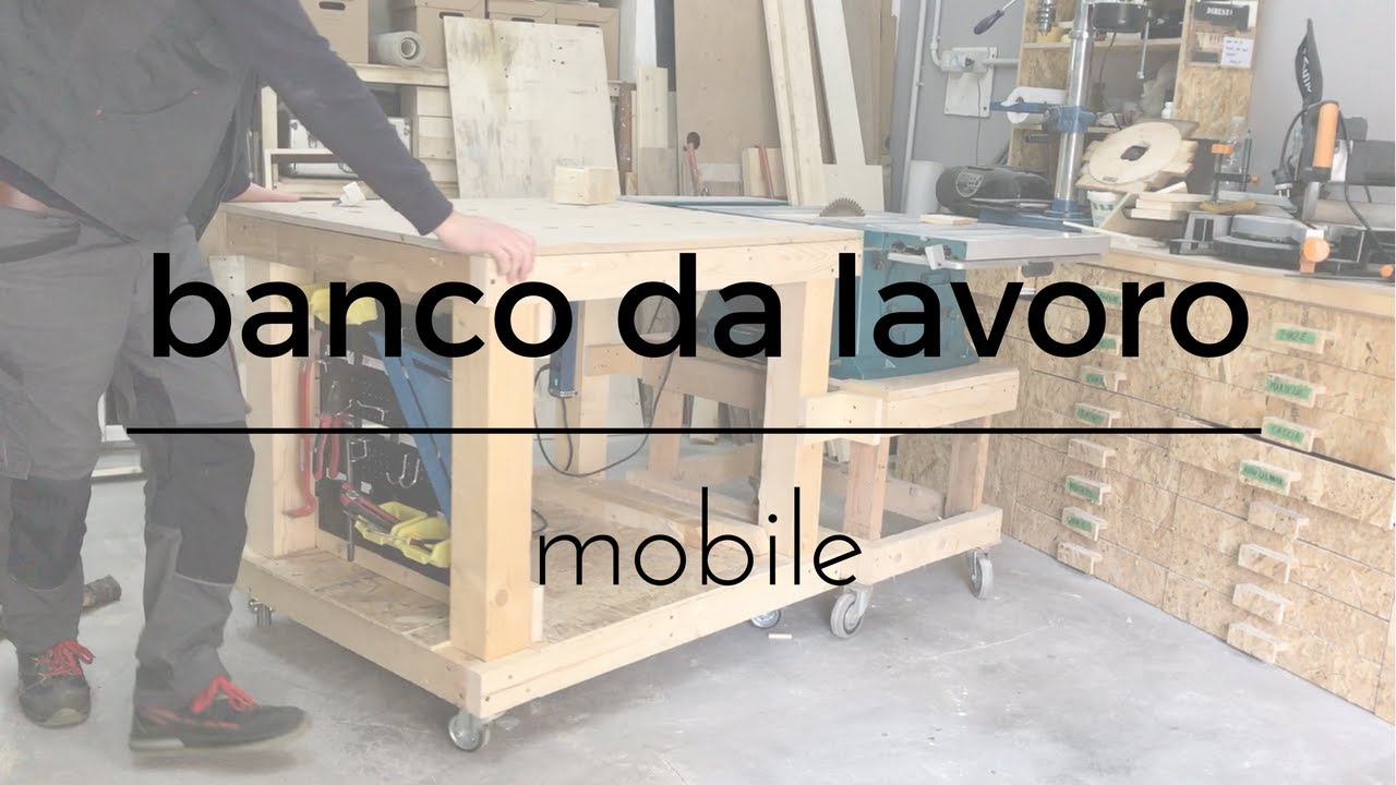Super Fai da Te - Banco da lavoro mobile - YouTube XN67