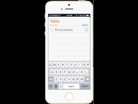 Syncing Outlook Tasks To IPhone