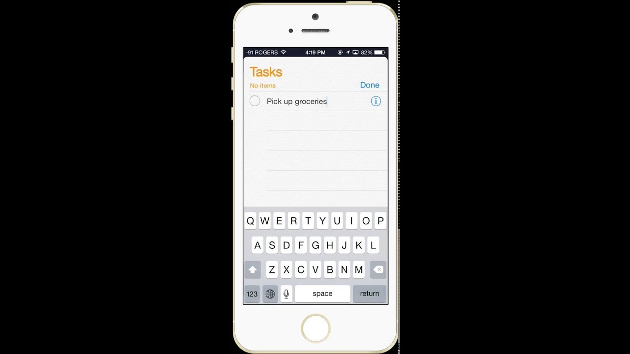 Syncing Outlook Tasks to iPhone - YouTube