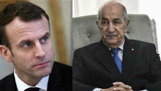 L'Algérie rappelle son ambassadeur en France après des propos critiques d'Emmanuel Macron