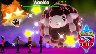 SHINY WOOLOO + SHINY MACHOKE! (Pokemon Sword + Shield)