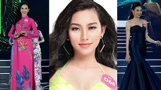 Nguyễn Thúc Thùy Tiên - SBD 068 - Tổng hợp phần thi Áo Dài - Bikini - Dạ Hội Hoa Hậu Việt Nam 2018