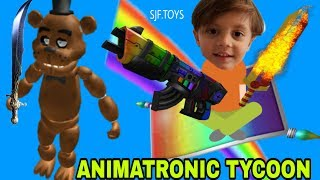 New special edition gun in ROBLOX: ANIMATRONIC TYCOON #ROBLOX