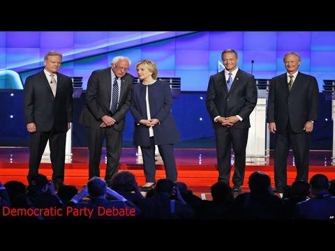 Democratic Party Debate - Democratic Party Debate 2015 - Democratic Party Presidential Debates