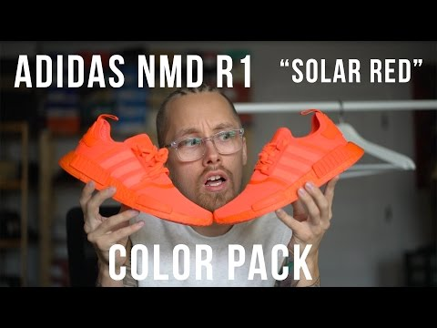 What Color Are These Shoes Adidas Nmd R1 Solar Red Review