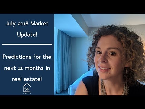 July 2018 Market Update, and Market Predictions for the next 12 months!