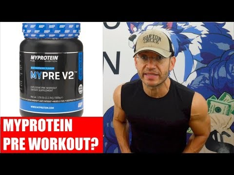 MYPROTEIN Pre-Workout? - Say What?! | MYPRE V2 Review