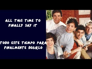 Loved You First - One Direction (Letra en ingles y español)