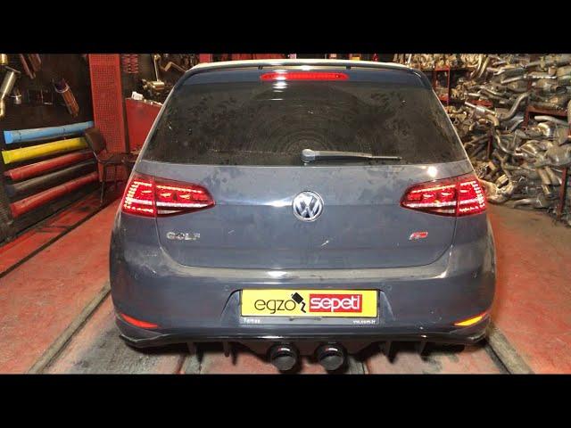 VW GOLF 7 R400 1.4 KUMANDALI VAREX EGZOZ SESİ