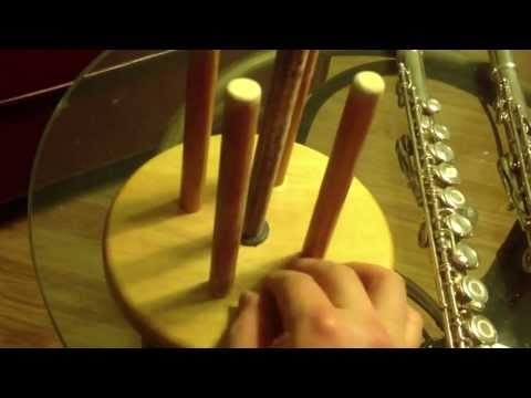 Making a Flute Stand (20130615FluteStand)