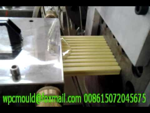 WPC coextrusion decking mould testing