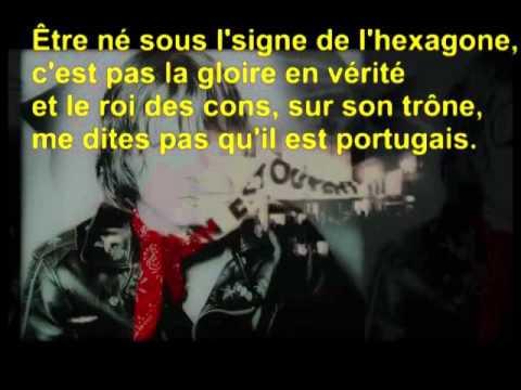 hexagone - Renaud - avec paroles