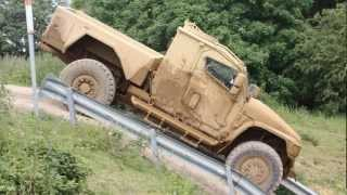 Navistar Defense Saratoga and MXT Cargo at  DVD 2012, Millbrook, UK