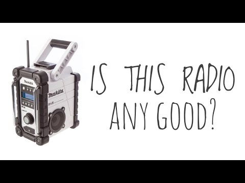 Makita DAB Radio Review