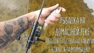 На мормышку с Hana S69FL-Solid. Рыбалка на домашней реке