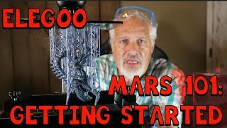Elegoo Mars Resin Printer: Getting Started! Tips and Tricks!