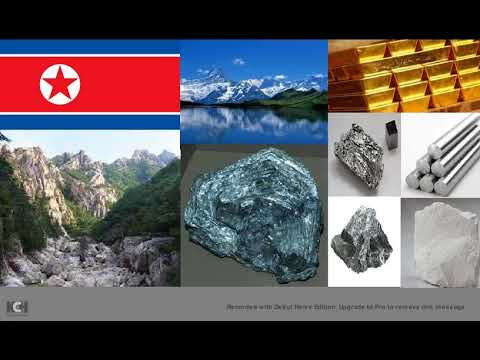 DPRK has trillions in mineral resources