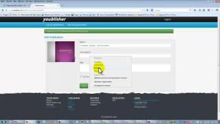 Как создать в электронной книге эффект перелистывания страниц  Сервис Youblisher  Видео
