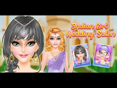 Indian Girl Wedding Salon- Indian Bride Fashion Idea Game