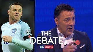 Should Wayne Rooney get another England cap? | The Debate | Saunders & Sherwood
