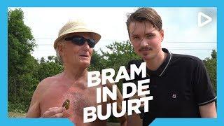 Bram op een nudistenstrand - Bram in de Buurt | SLAM!