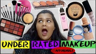 UNDERRATED AFFORDABLE MAKEUP PRODUCTS  2018 | MUST WATCH