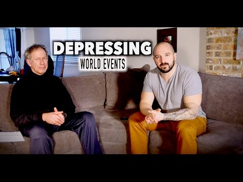 Dealing With DEPRESSING WORLD EVENTS (feat Counselor Douglas Bloch)