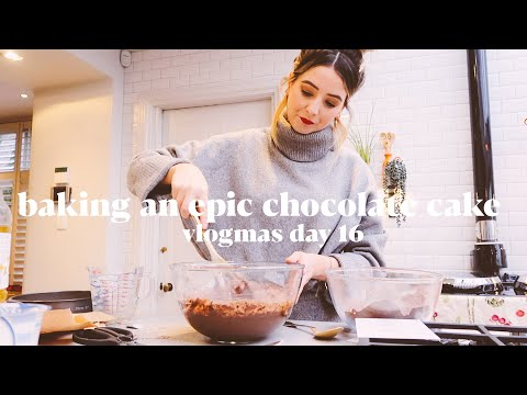 baking-an-epic-chocolate-cake-|-vlogmas
