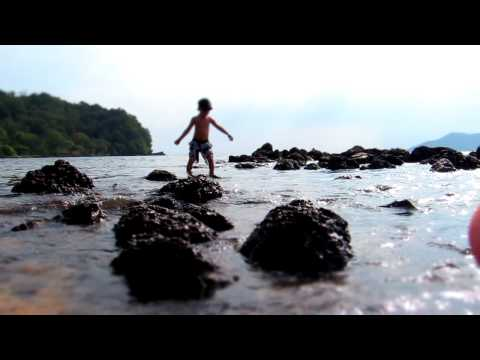 Nikki paddling in Ao Yang, Laem Sing, Chanthaburi