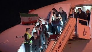 أول رحلة جوية للخطوط الفرنسية الى طهران منذ تعليقها في 2008